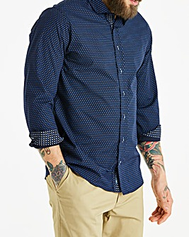 Bewley & Ritch Navy L/S Shirt R