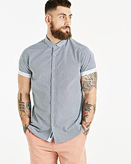 Bewley & Ritch Geo Print S/S Shirt R