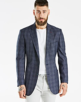 Bewley & Ritch Navy Check Blazer R