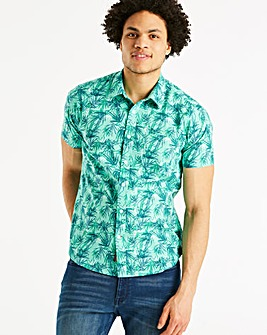 Joe Browns Sketchy Leaf Shirt Regular