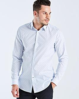 Burton London B&T Slim Clip Stripe Shirt