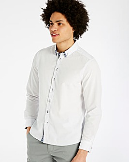Joe Browns Double Up Dobby Shirt Regular