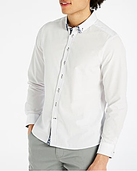 Joe Browns Double Up Dobby Shirt Regular