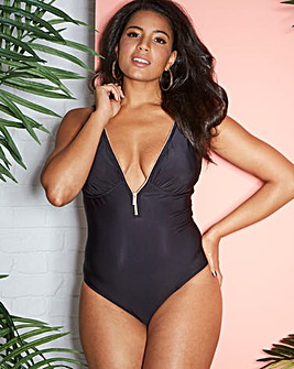 Figleaves Curve Zip Swimsuit
