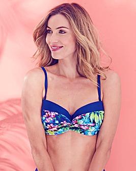 MAGISCULPT Floral Minimising Bikini Top