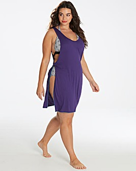 Simply Yours Tie Side Beach Dress