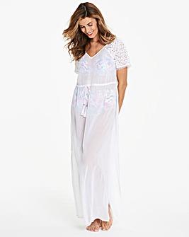 Crochet Shoulder Beach Dress