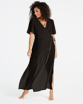 Wrap Over Beach Dress