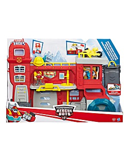Transformers Robot Rescue Bot HQ