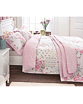 V & A Thurloe Rose Duvet Cover Set