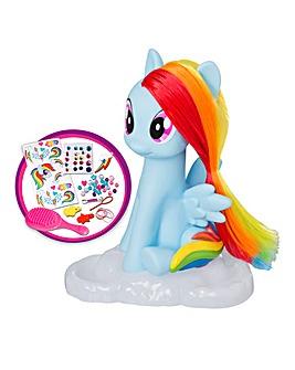 MLP Rainbow Dash Style & Groom