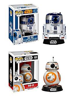 POP! Figure 2pk - Star Wars BB-8 & R2-D2