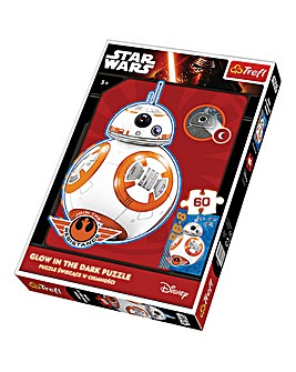 60 Piece Star Wars BB-8 Is Coming GITD