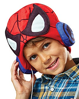 Marvel Spider-Man Headphone Hat