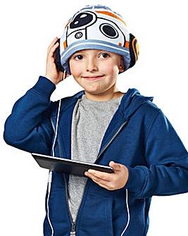 Star Wars BB-8 Headphone Hat