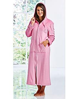 Pretty Secrets Velour Zip Gown 48 inch