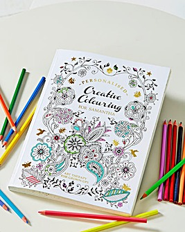 Personalised Adult Colouring Book