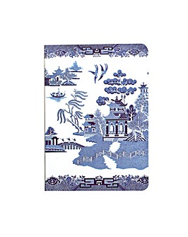 Blue Willow A6 Notebook
