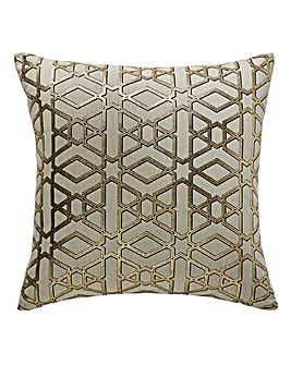 Edric Geo Gold Cushion