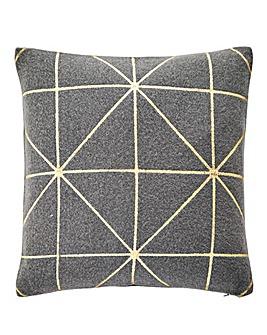 Aria Felt & Gold Cushion