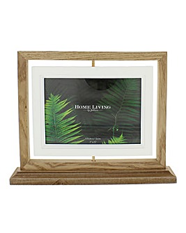 Wooden Suspended Photo Frame 18 x 13cm