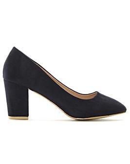 DF By Daniel Vance Block Heel Court Shoe