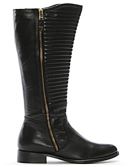 DF By Daniel Dorford Quilted Riding Boot