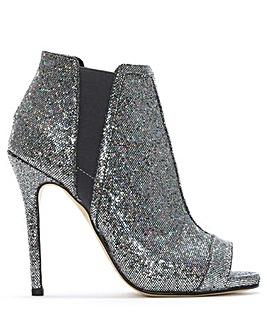 Daniel Apeep Glitter Ankle Boots