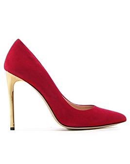 Daniel Meredith Gold Heel Court Shoes