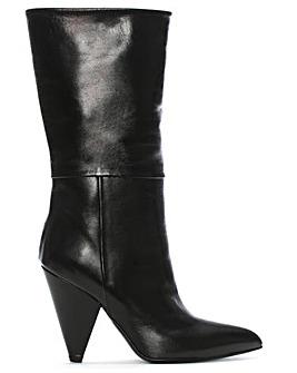 Daniel Vissia Cone Heel Calf Boots