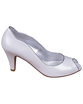 Lindsey May Maria Peep Toe Court