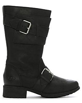 UGG Chancey Leather Calf Biker Boots