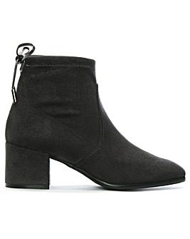 Daniel Tollar Stretch Suede Ankle Boots