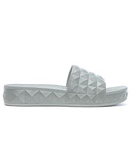 Ash Chunky Studded Flatform Sliders
