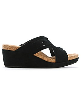 UGG Lilah Criss Cross Wedge Sandals