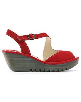 Fly London Asymmetric Strap Sandals