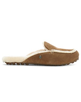 UGG Lane Suede Slip On Loafers