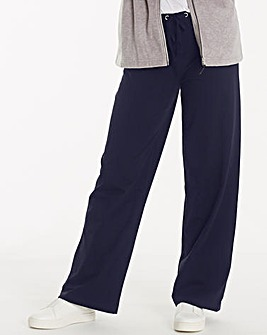 Cotton Rich Wide Loose Fit Pant 31 Inch