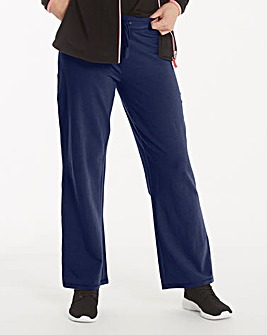 Cotton Rich Straight Leg Pant 31In