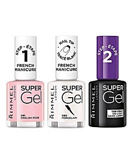 Rimmel Super Gel French Manicure Trio