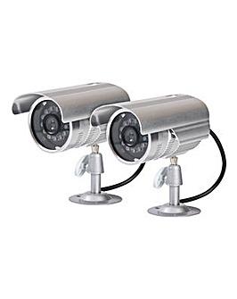 Proper Metal Fake Security Camera Kit