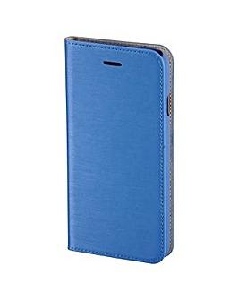 Hama Slim Book Case for iPhone 6, Blue