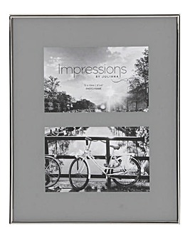 Impressions Nickel Grey Photo Frame 4x6