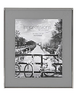 Impressions Nickel Grey Photo Frame 8x10