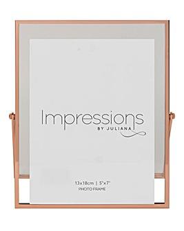 Impressions Copper Finish Frame 5x7