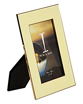 iFrame Yellow Photo Frame 4x6