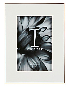 iFrame White Photo Frame 4x6