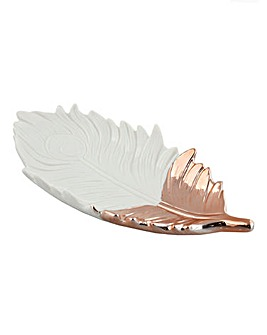 Amazonia Collection Ceramic Leaf Dish