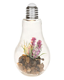 Faux Flower LED Garden Bulb