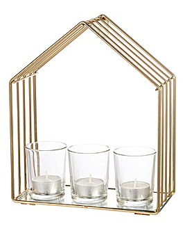 Tealight Holder Glass House
